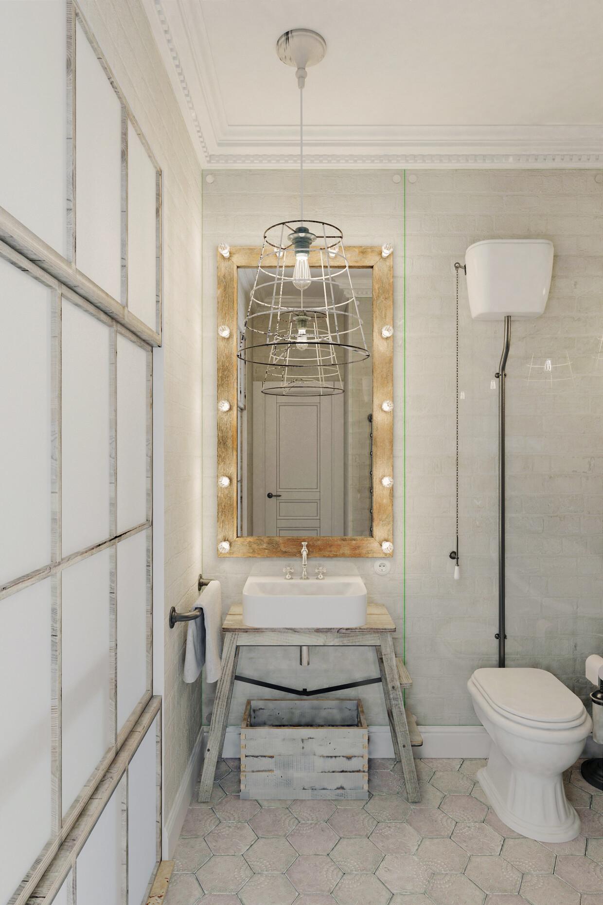 Apartment Prague with a completely white interior - Anton Medvedev - HomeWorldDesign (12)