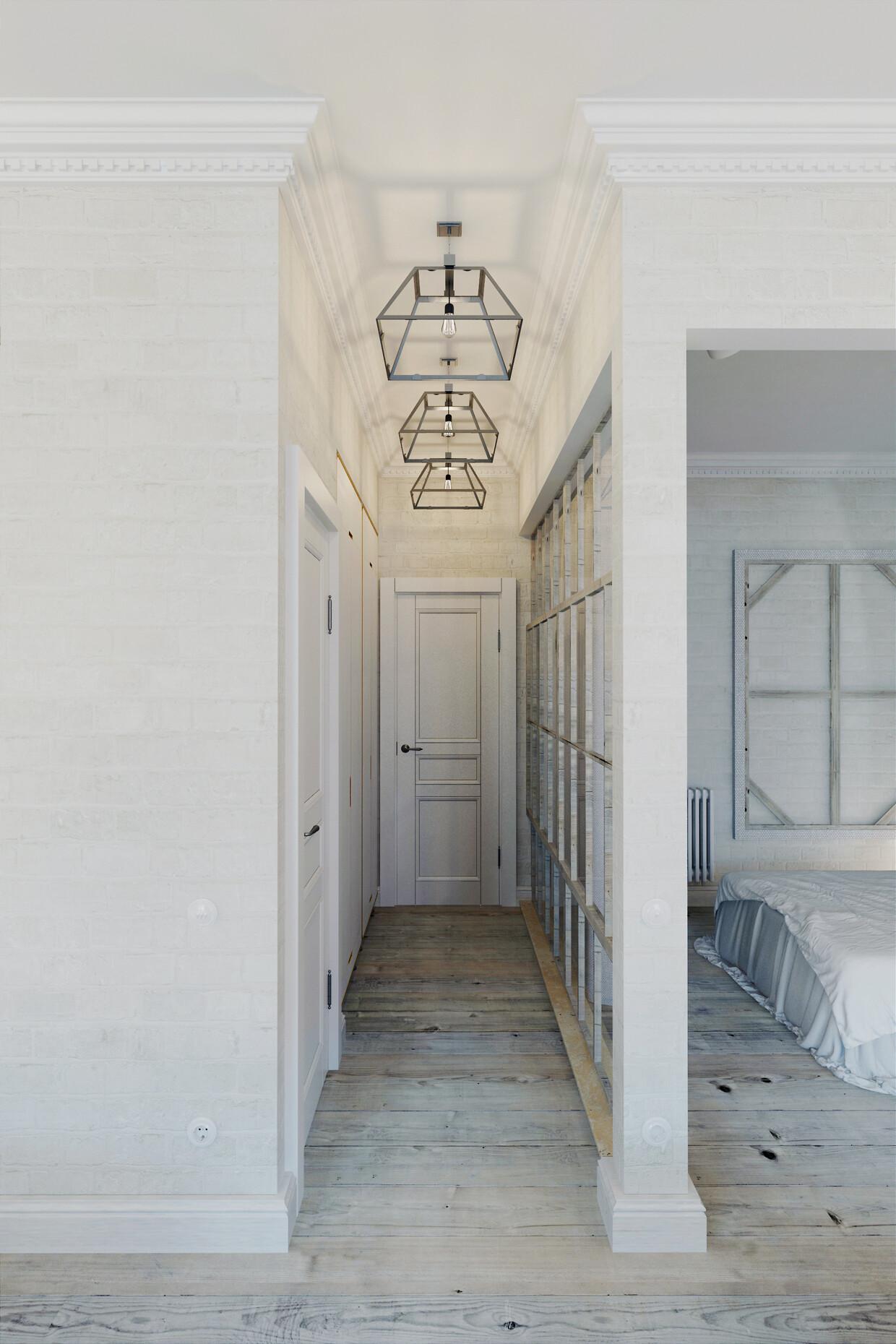 Apartment Prague with a completely white interior - Anton Medvedev - HomeWorldDesign (15)