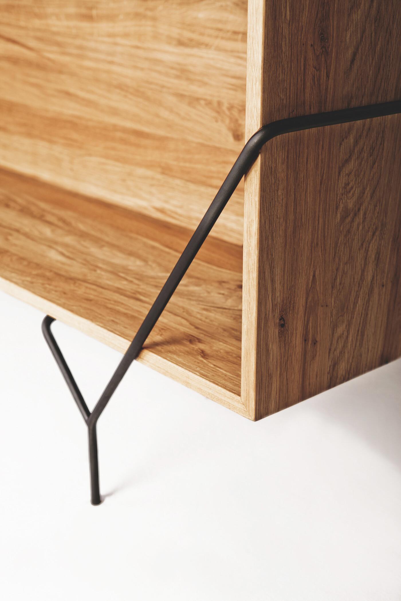 Collection by Kutarq Studio geometric shapes and metal-wood combination - HomeWorldDesign (4)