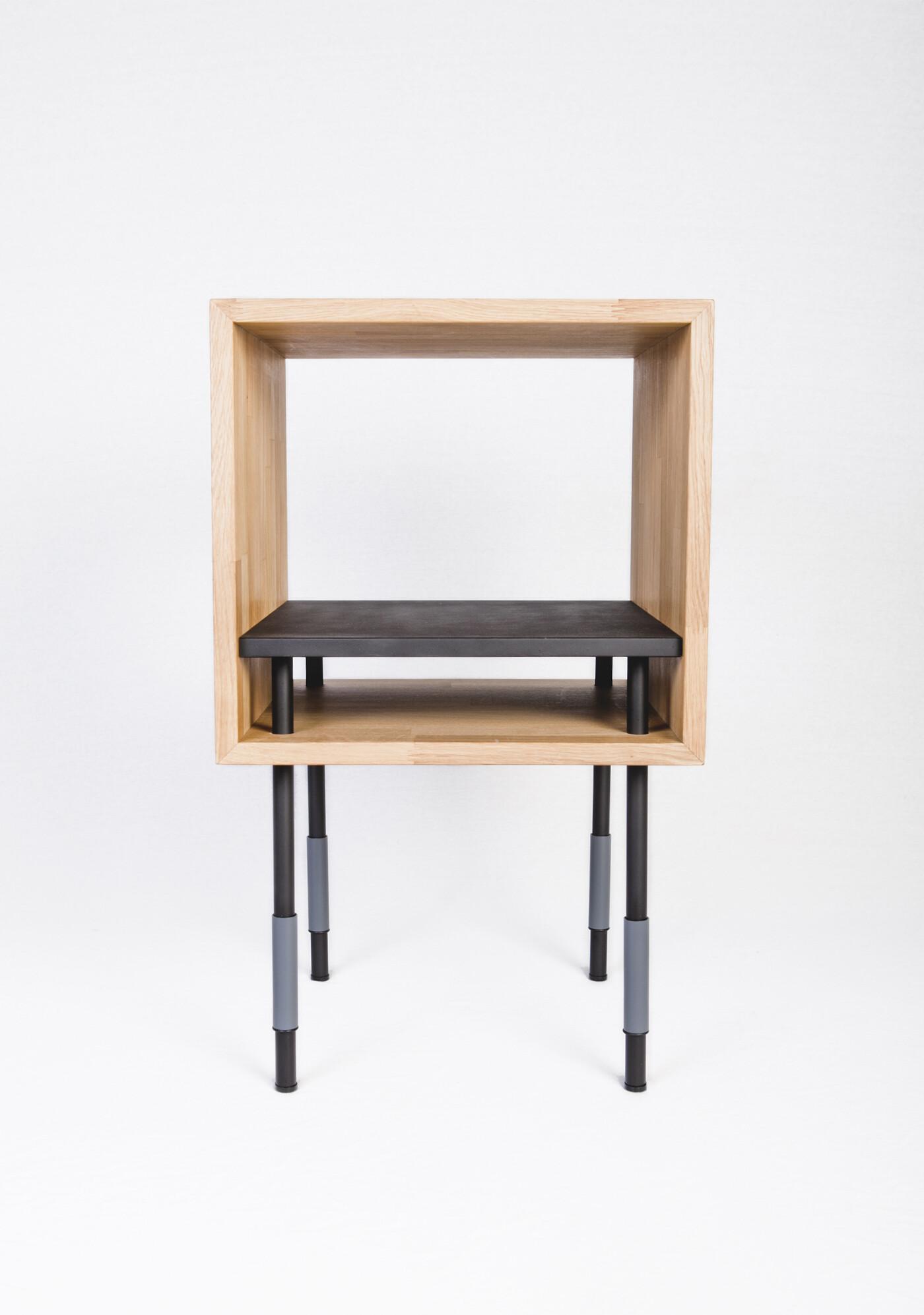 Collection by Kutarq Studio geometric shapes and metal-wood combination - HomeWorldDesign (7)