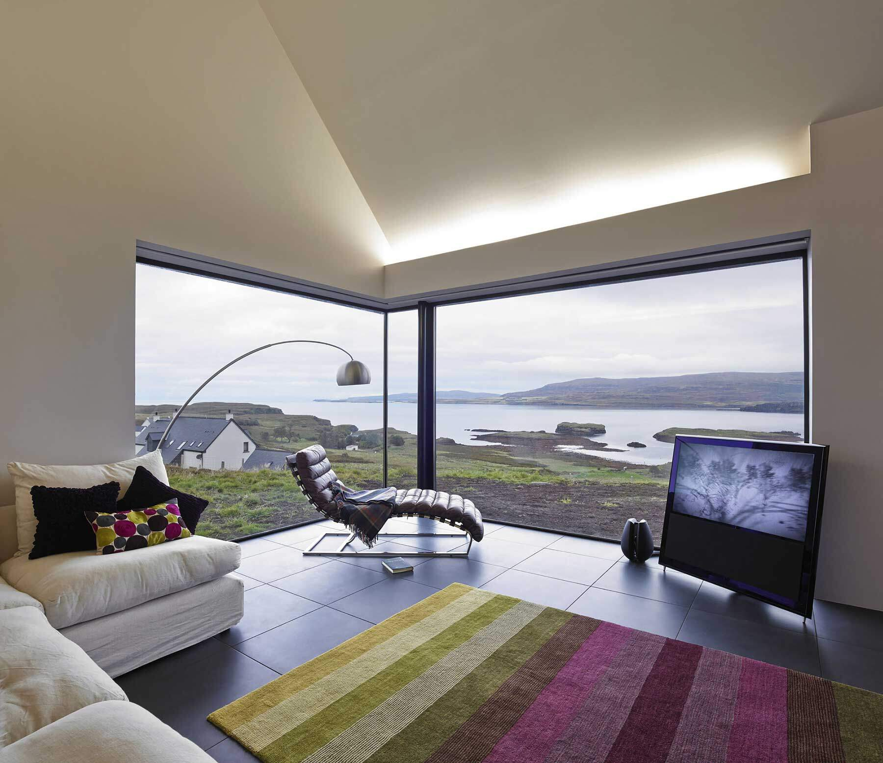 Skye Island house inspired by Scottish farm barns