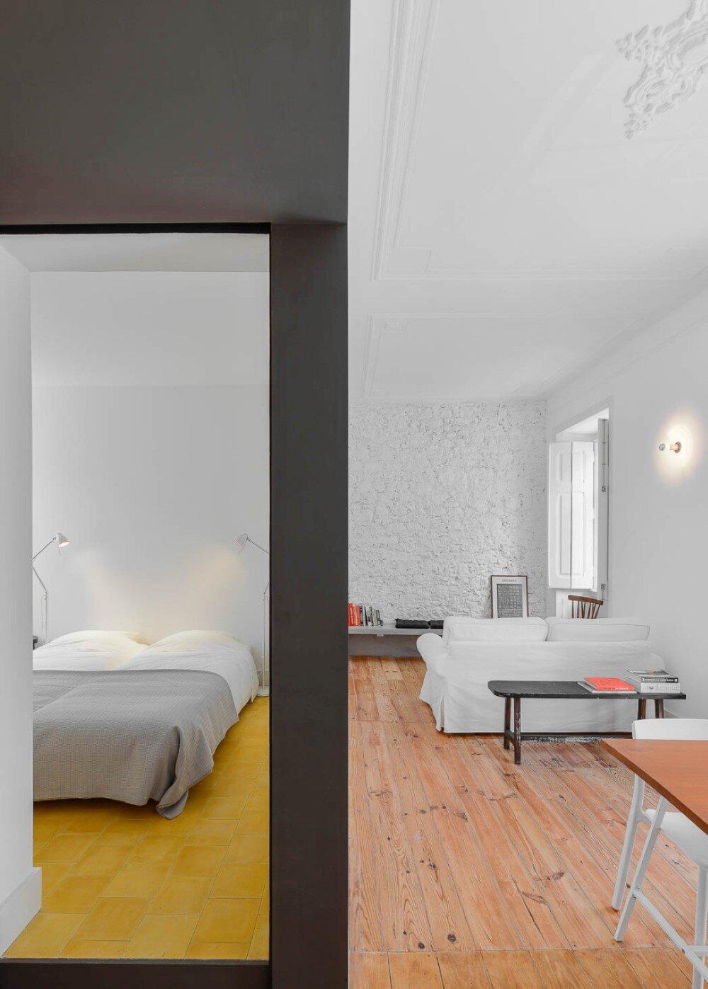 bedroom, living, Arriba