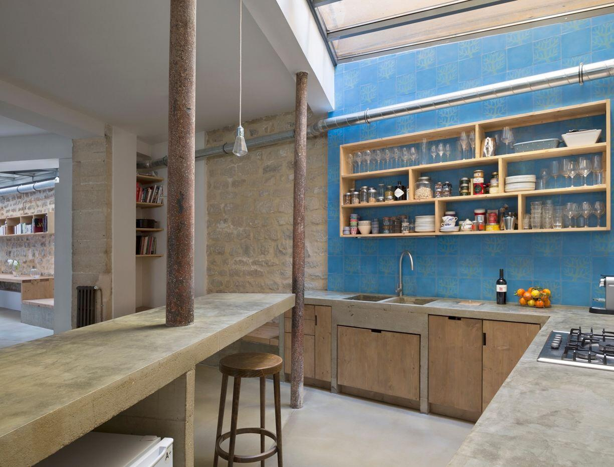 Loft In Paris Ancient Craft Shop Transformed By Maxime