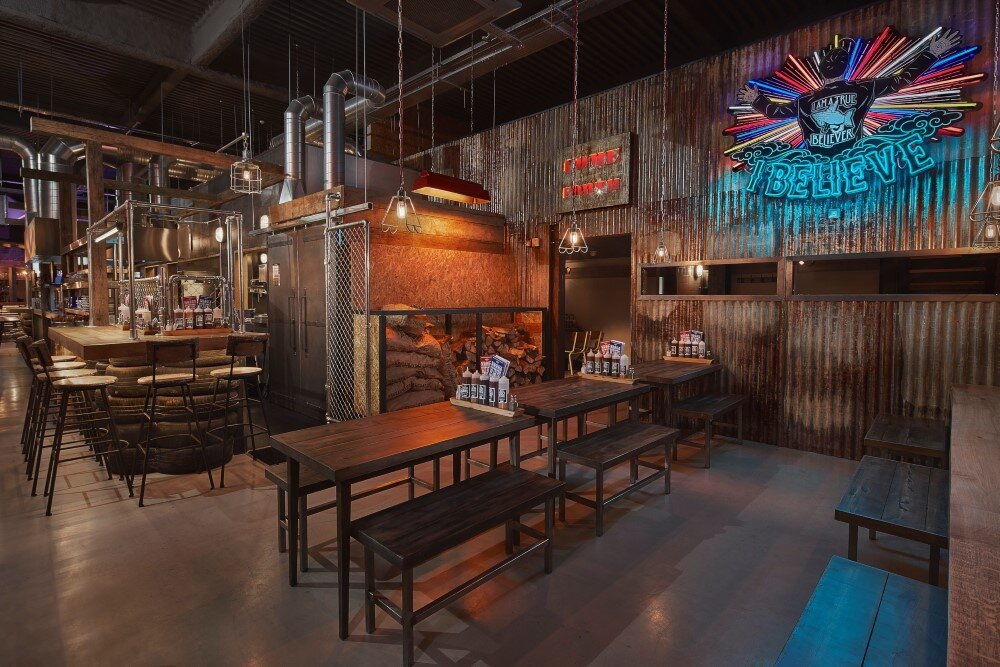 Stunning Bbq Restaurant Interior Design Ideas Gallery - Interior ...