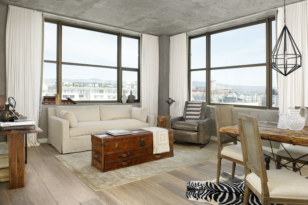 The Bond eclectic mix of modern and vintage - Parisa O'Connell - HomeWorldDesign (1)