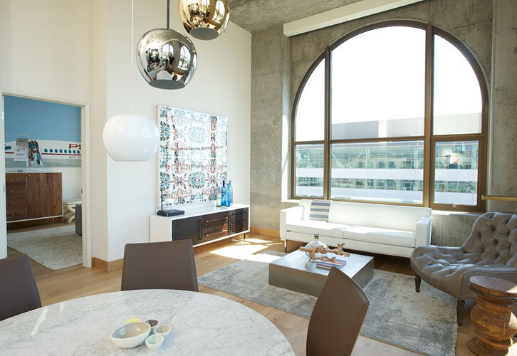 Bond apartment / eclectic mix of modern and vintage - Parisa O'Connell - HomeWorldDesign (9)