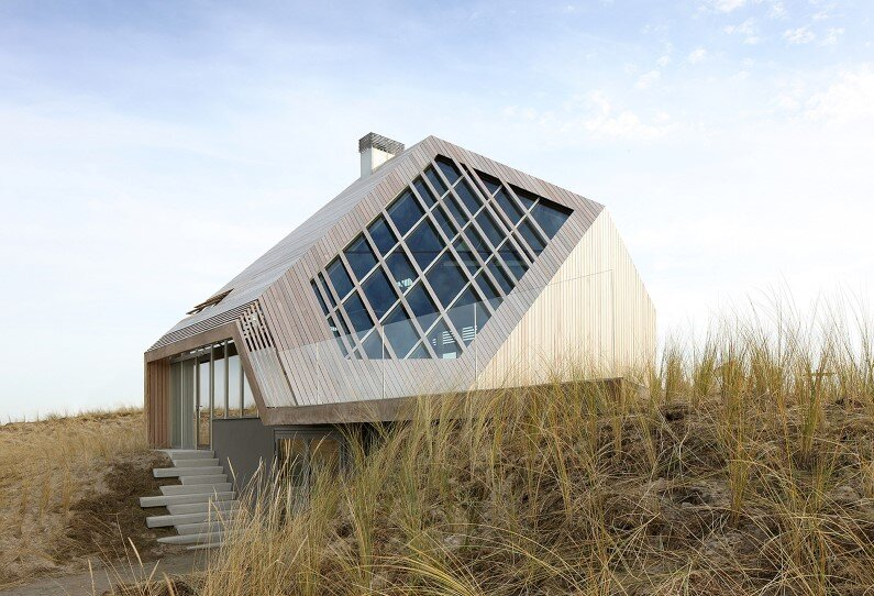 Dune House: Inspired by Sand Dunes of Terschelling Island