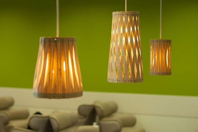 Upcycle – collection of handmade lamps