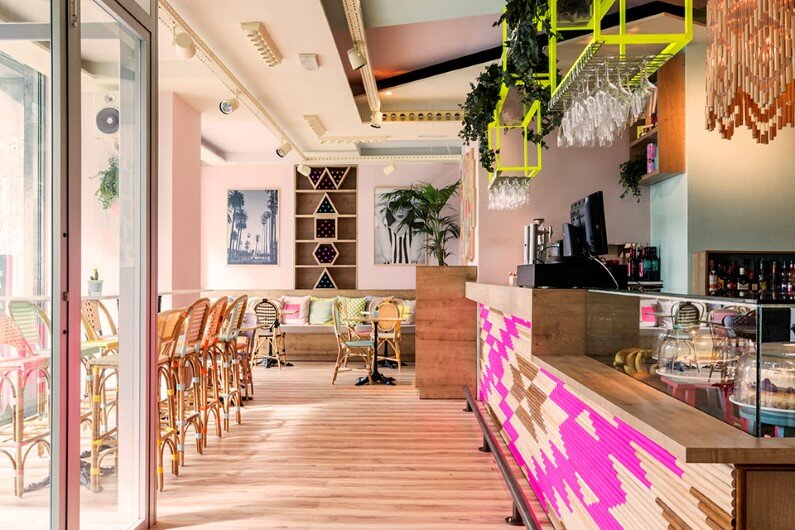 Wanda Café in Madrid