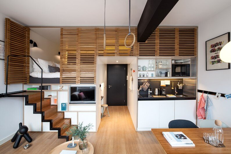 Zoku Hotel brings a new concept of hotel room
