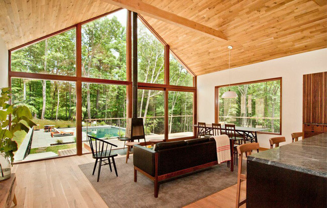 Hudson Woods: energy efficient modern houses in the Hudson River Valley