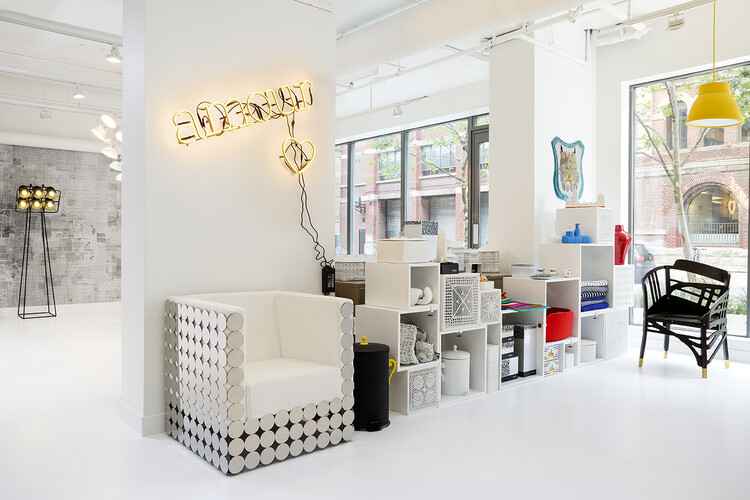 showroom - furniture, lighting, wallpaper and accessories from RAD Design