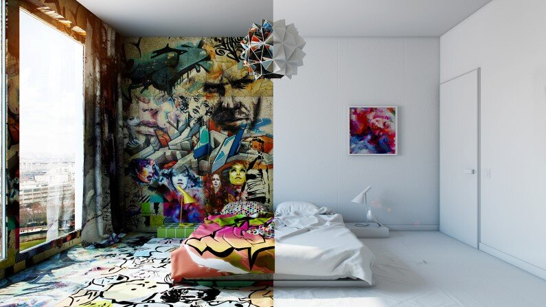 Artistic design by Pavel Vetrov - Avant-Garde - Sunday Room Project
