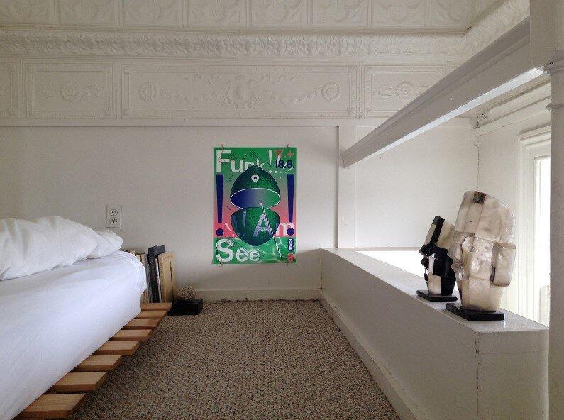 Baltimore apartment - bedroom
