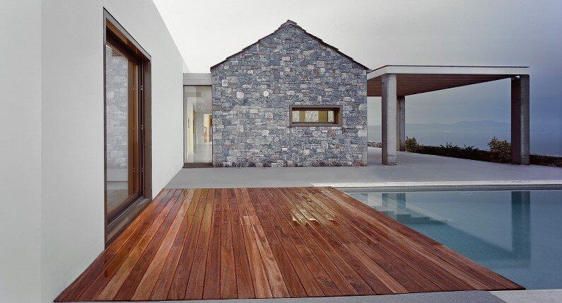 Melana Villa is located in Tyros, Greece