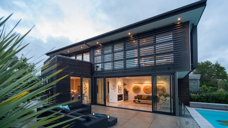 Mt Eden House by Black Box Architects in Auckland, New Zealand