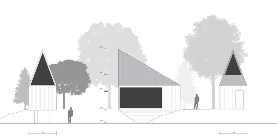 Project - Retreat in a forest with minimal impact on the environment