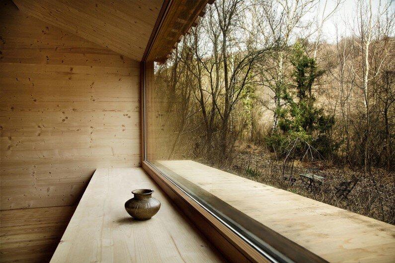 Recreation cabin in the woods - Heike Schlauch