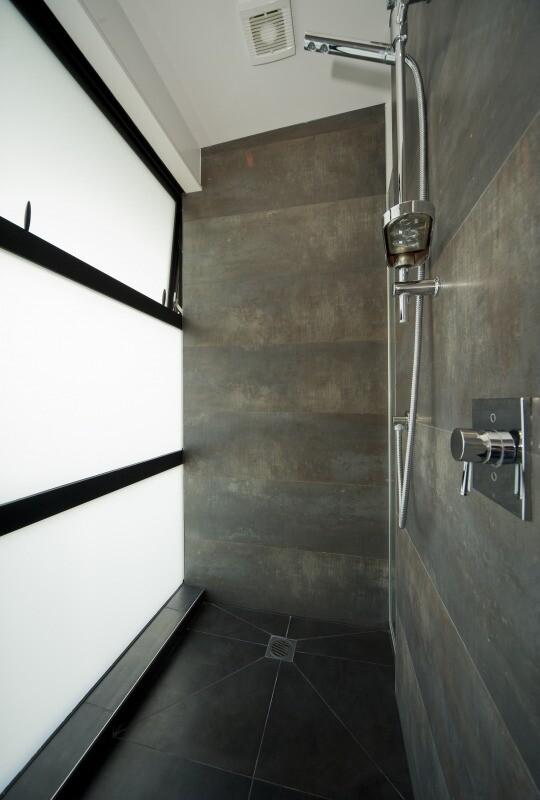 Shower - Mt Eden House by Black Box Architects