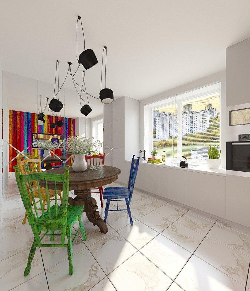 Small Apartment - Russian designer and architect Tatiana Zhivolupova