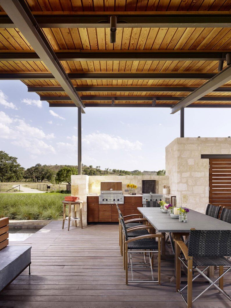 Story Pole House designed by Lake Flato Architects, Texas