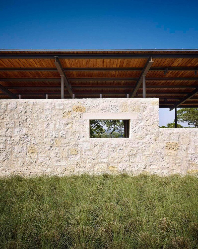 Story Pole House designed by Lake Flato Architects