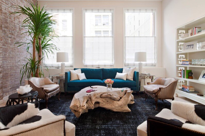 Tribeca Duplex by Revamp: Glamour Style Meets Play