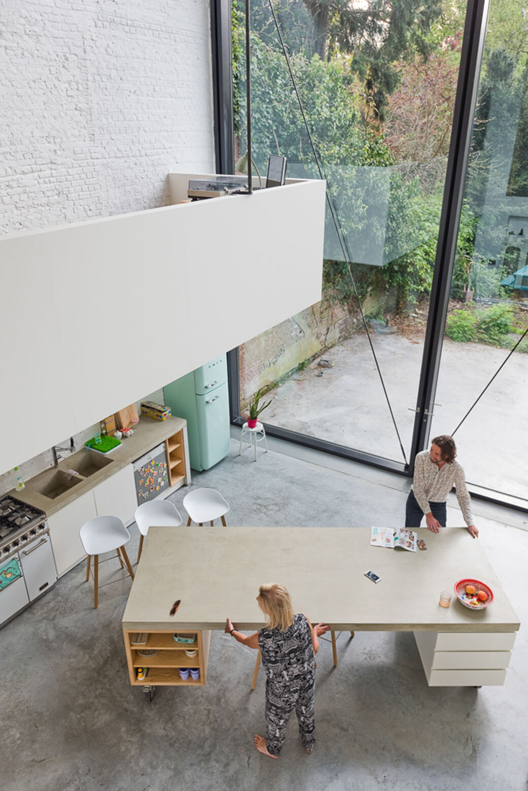 old Bourgeois house - Designed and renovated by Antwerp-based Sculpt IT Architecten