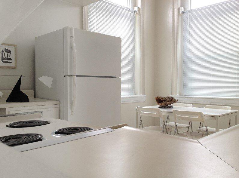 white kitchen in Baltimore