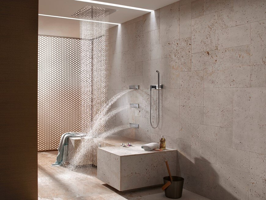 Comfort Shower From Dornbracht Lets You While Sitting Down 2