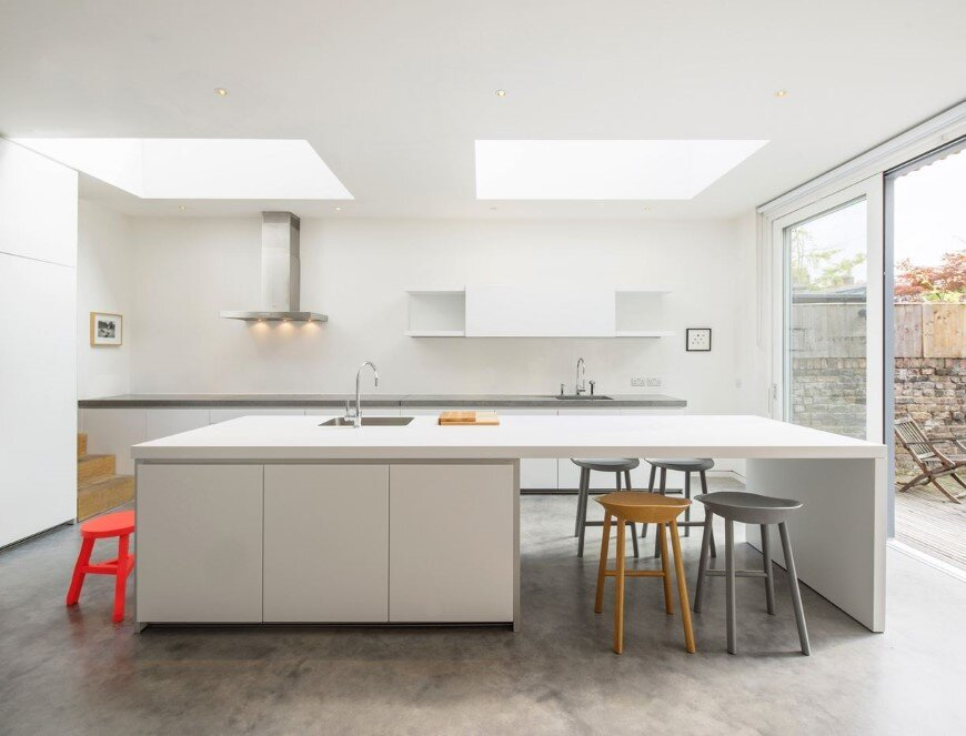 Complete refurbishment and extension of a Victorian semi-detached house (Custom)
