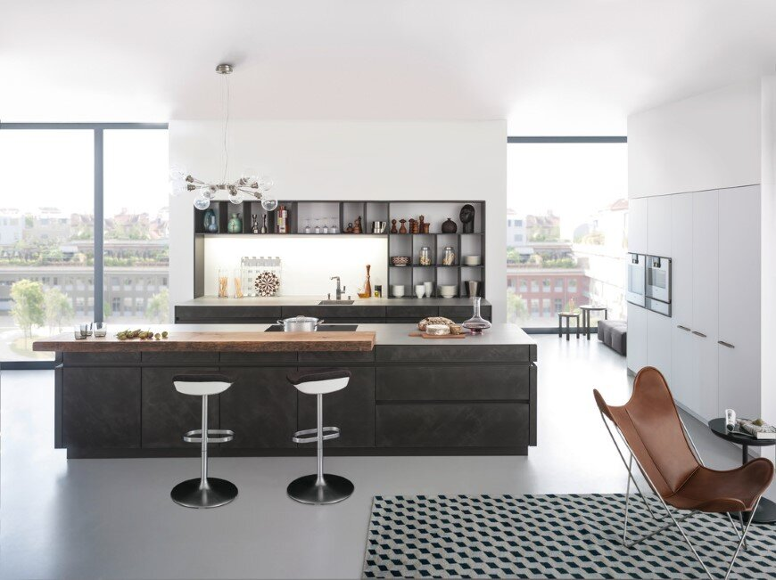 Concrete Kitchen by Leicht – designing with concrete surfaces