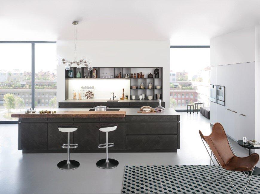 Concrete Kitchen by Leicht – designing with concrete surfaces