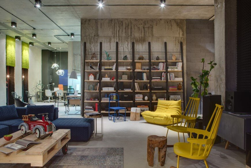 Dizaap office bright loft space with eclectic interior design (15)