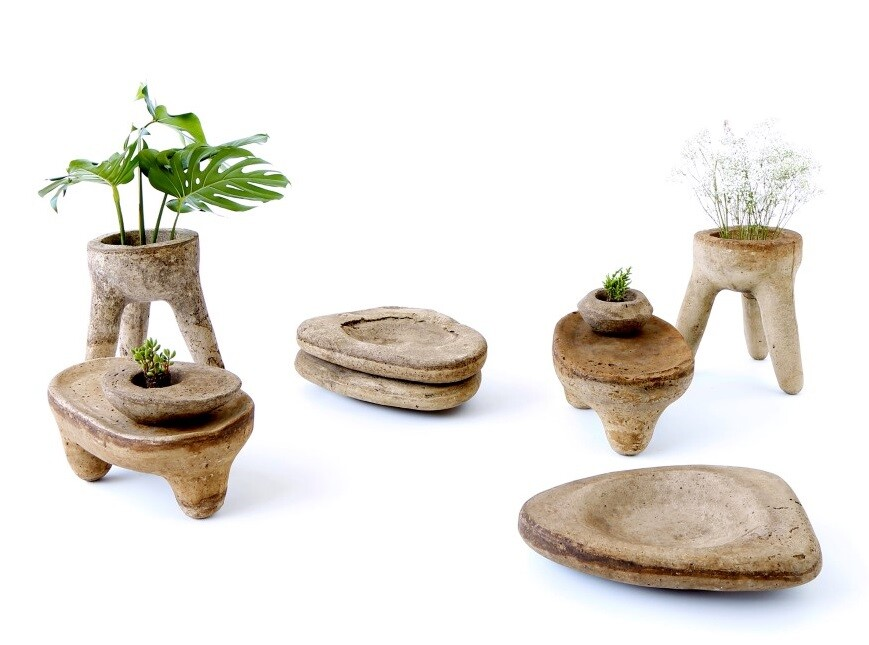 Materia Madura collection developed from plantain and coffee waste