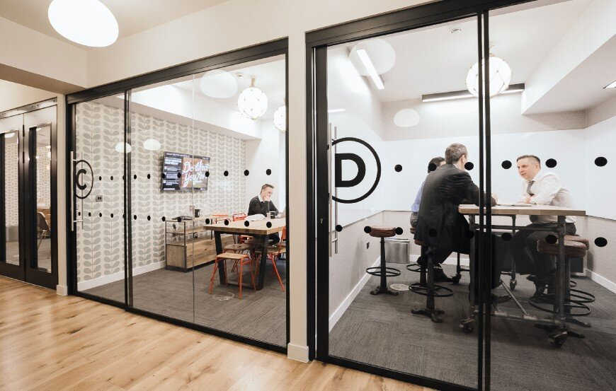 New coworking offices WeWork in London - by Oktra (3)