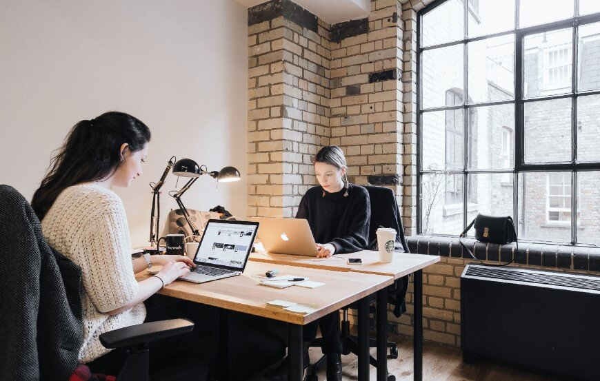 New coworking offices WeWork in London - by Oktra (5)