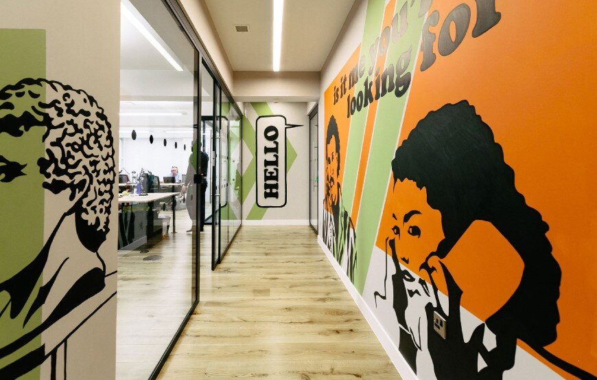 New coworking offices WeWork in London - by Oktra (6)