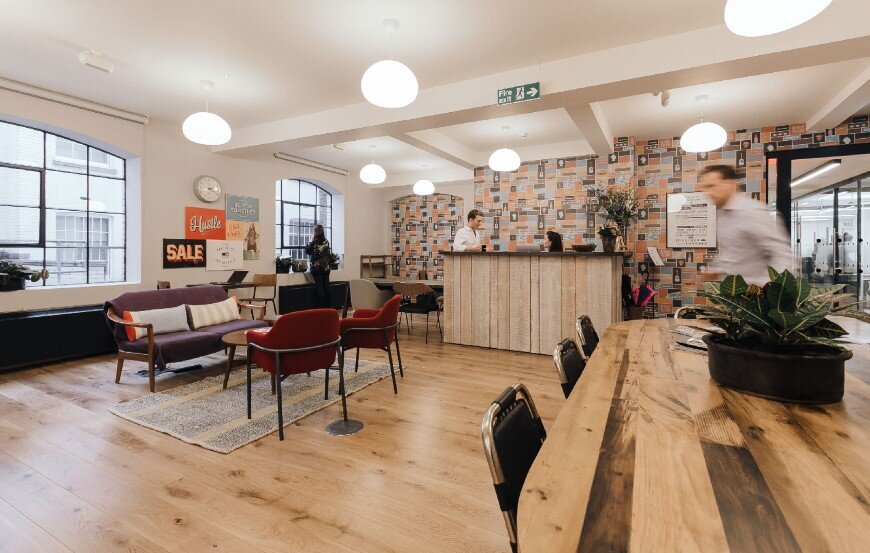 New coworking offices WeWork in London - by Oktra (7)