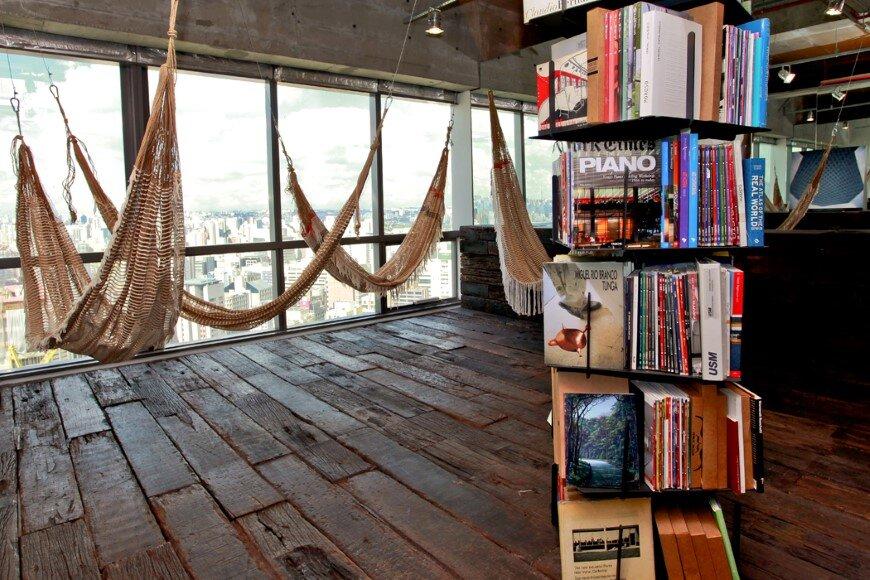 Reading Room in São Paulo – Candida Tabet Arquitetura