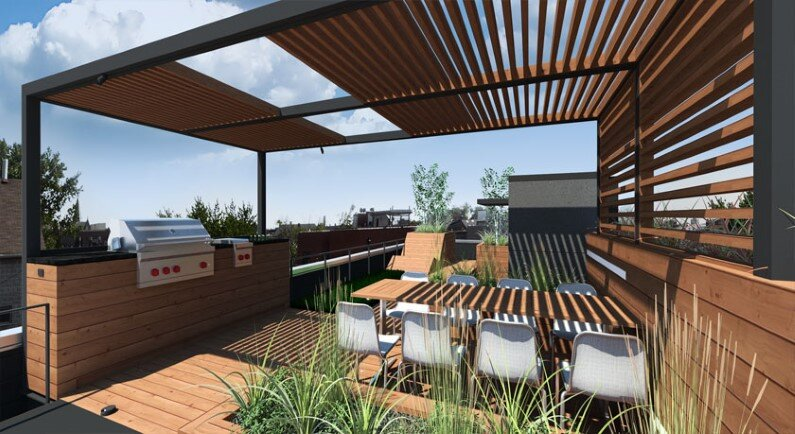 Rooftop retreat designed to showcase the Chicago skyline (3)