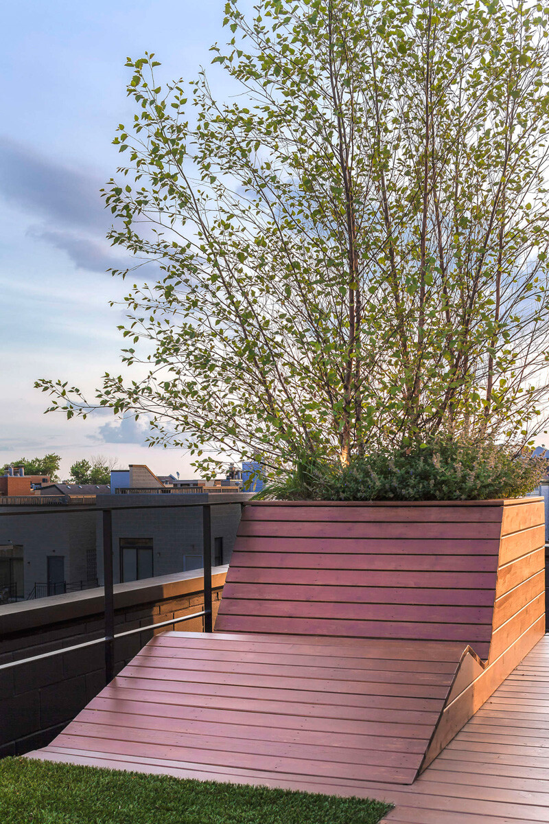 Rooftop social space designed to showcase the Chicago skyline (5)