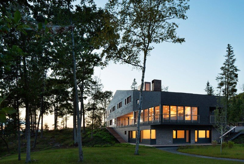 Islesboro Residence by Andrew Berman Architect