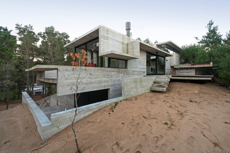 Concrete Structure Inspires Confidence and Durability: Wein House