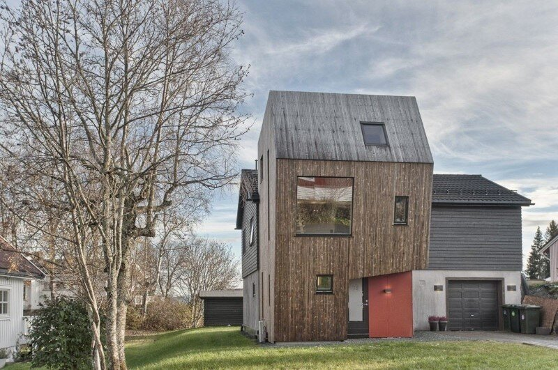 Extension of a Single Family House in Trondheim, Norway