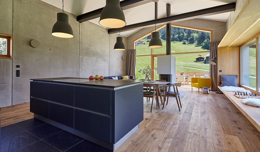 Holiday house Bergraum: modern interpretation of the traditional barn