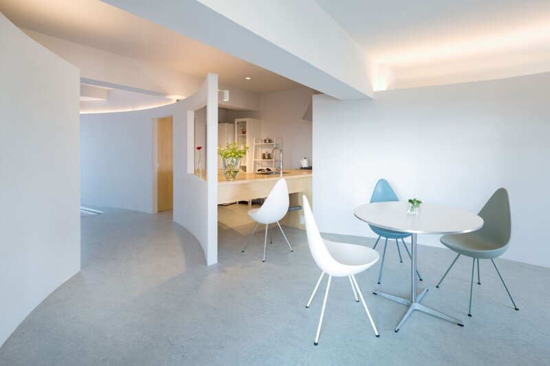 Japanese interior design to create a very calm and uncluttered home (8)