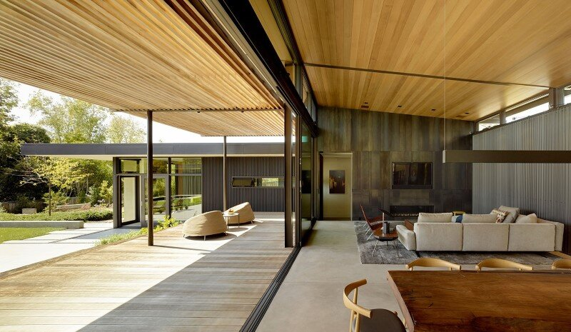 Mill Valley Courtyard House by Aidlin Darling Design