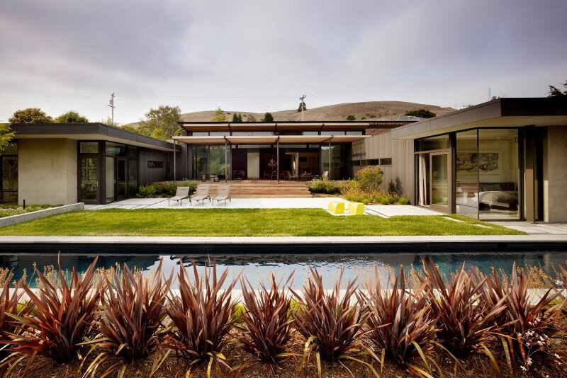Mill Valley Courtyard House by Aidlin Darling Design (1)