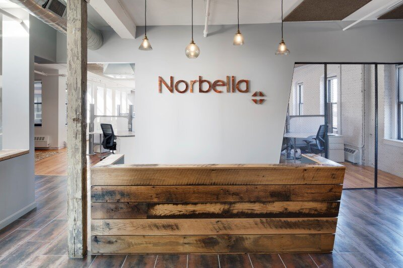 New workplace for Norbella in Boston by ACTWO Architects